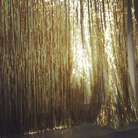 tinsel curtains tinsel curtain 70 s party c pinterest gatsby party
