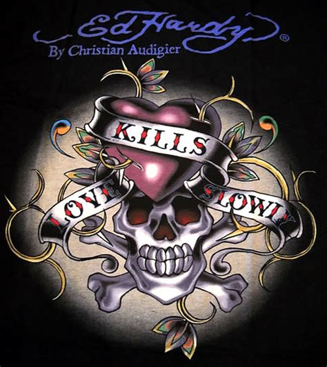 images of love kills love kills slowly skull ed hardy image 94 picturescafe