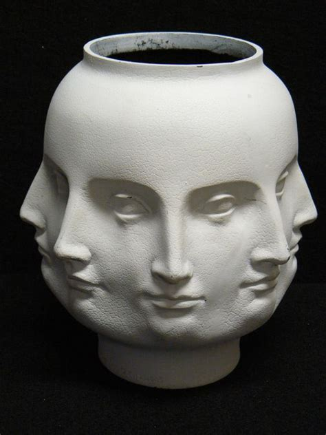 Perpetual Vase by Maar Modern Perpetual Vase Planter White