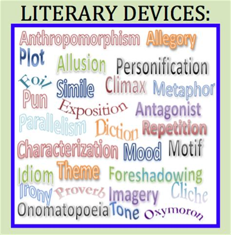 literary theme list middle school literary devices free handout and link to new publication