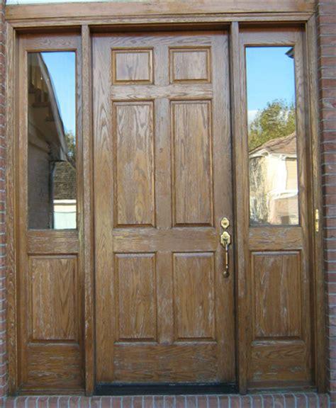 Wood Door Refinishing by Front Door Refinishing Refinish Wood Door Wood Door