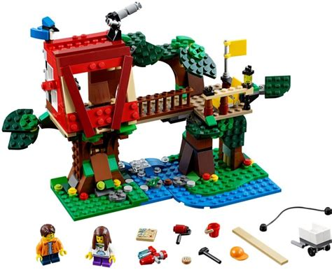 sets for 31053 1 treehouse adventures brickset lego set guide