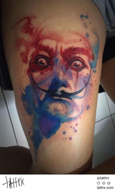 salvador tattoo 1000 images about dali tattoos on city