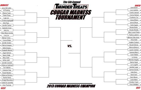 hot guy march madness bracket 2013 cougar madness bracket the best march madness