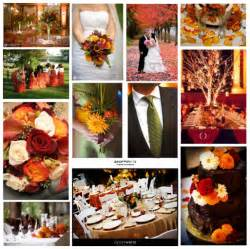My favourite colours for autumn weddings are pumpikin orange rich