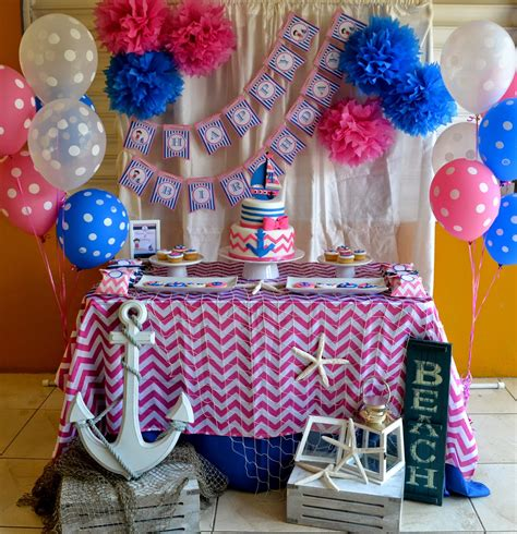 nautical birthday theme partylicious nautical birthday