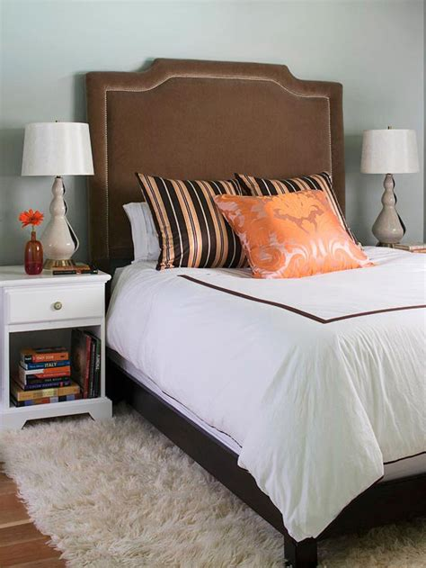chocolate brown headboard new home interior design gorgeous upholstered headboards