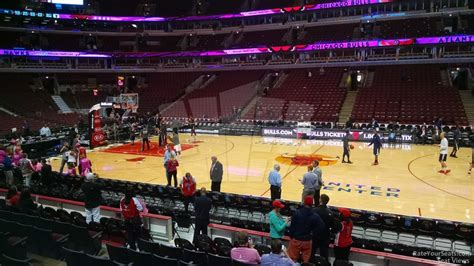 section 111 united center chicago bulls united center section 111 rateyourseats com