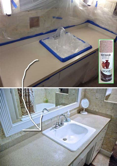 paint bathroom countertop best 20 spray paint countertops ideas on pinterest
