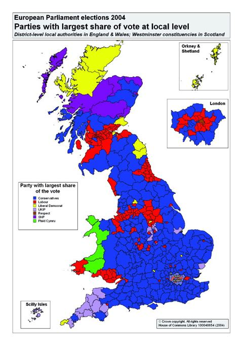 uk election united kingdom european parliament election 2004