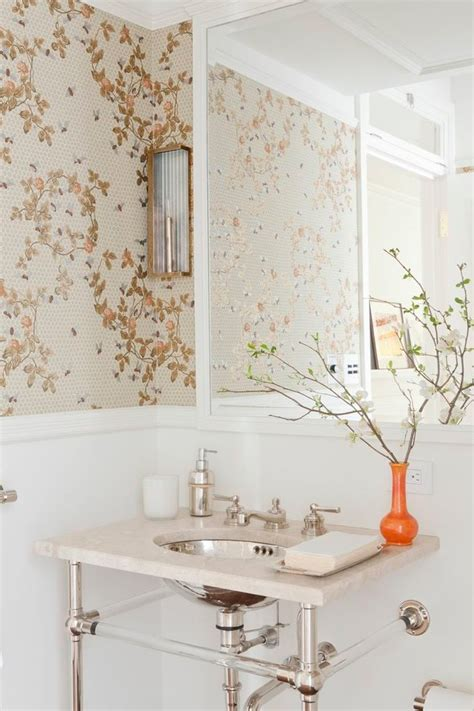 powder room wallpaper looking chinoiserie wallpaper convention new york