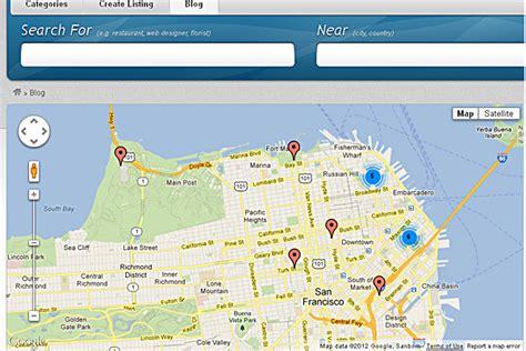 wordpress layout map vantage google map plugin premium wordpress themes