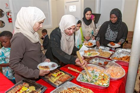 Feast On A Month Of Local Muslims Gather For Festival At End Of Holy Month