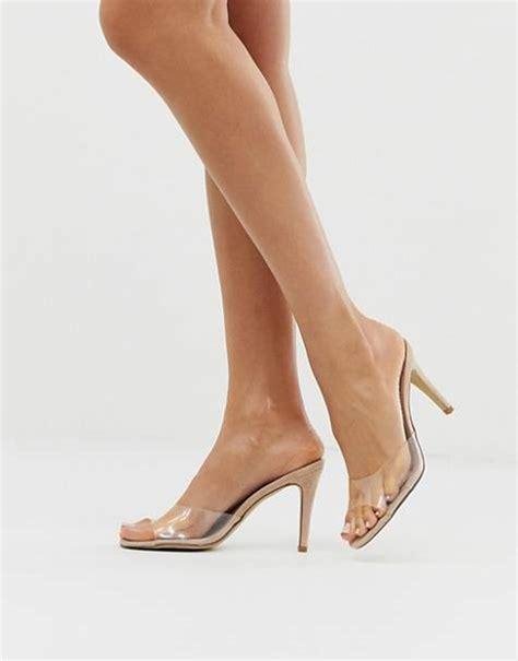 scarpe con tacco alto scarpe con tacco largo e scarpe con plateau asos