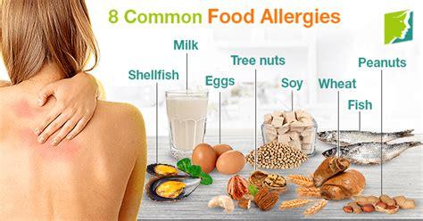 common food allergies 8 common food allergies