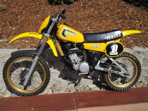 vintage motocross bikes for sale usa buy 1981 yamaha yz 125 mx vintage dirt bike motorcycle on