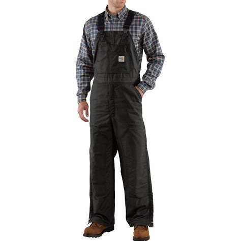 Carhartt Quilt Lined Duck Coveralls by Carhartt Resistant Quilt Lined Duck Bib Overalls