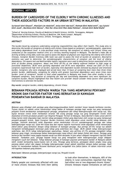 ISU SETINGAN DI MALAYSIA PDF