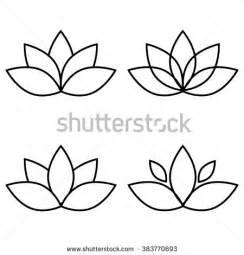 Few Lines On Lotus Flower In Lotus Stockfotos Und Bilder