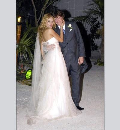 imagenes vestidos de novias famosas fotos bodas de celebrities paulina rubio