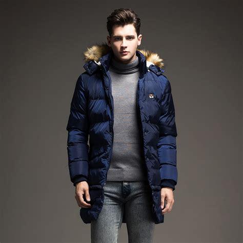 Jaket Kpop Heavy White parka coats mens clothing coat nj