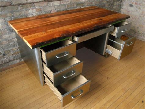 Tanker Desk Toronto by 1000 Images About Reclaimed Wood Desk Ideas On