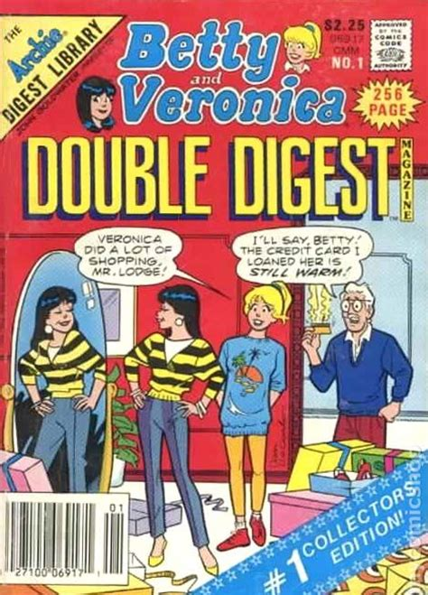 Betty Digest 1 betty and digest 1987 comic books