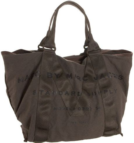 Marc By Marc Standard Supply Tote by Marc By Marc Standard Supply Tote In Gray Mouse