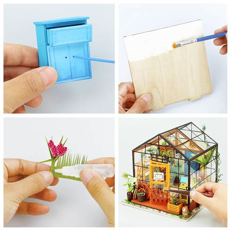 cathys flower house wooden diy house squoodles