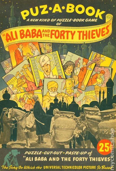 alibaba book ali baba and the forty thieves 1944 comic books