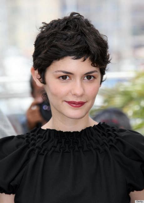 pixie french hairstyle audrey tautou hair