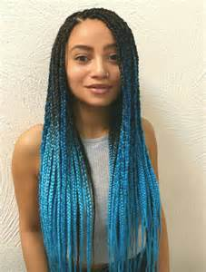 colored cornrows best 25 colored box braids ideas on box braid