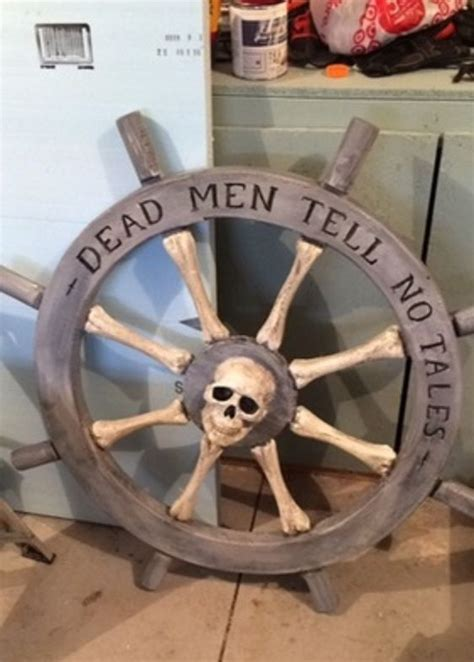 homemade boat steering wheel diy pirate ship wheel tutorial pirate craft projects
