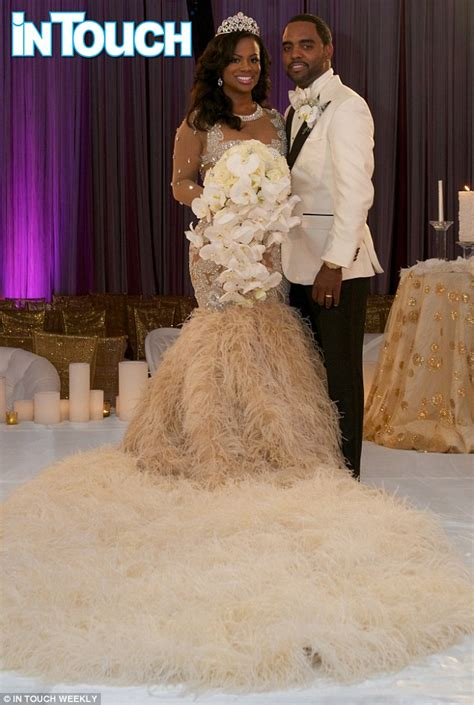 Kandi Burruss Wears 20000 Wedding Dress In First Photos | kandi burruss wears 20 000 wedding dress in first photos