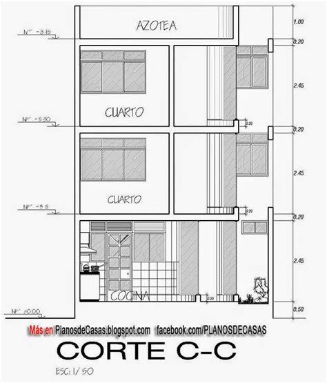 planos de casa unifamiliar  pisos  medidas planos de