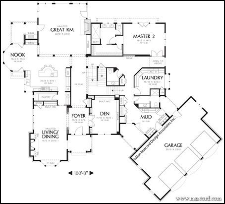 top 3 multigenerational house plans build a one story house plans with two master suites pictures to