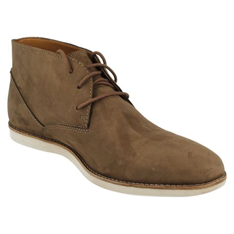 best ankle boots for mens clarks franson top ankle boot ebay