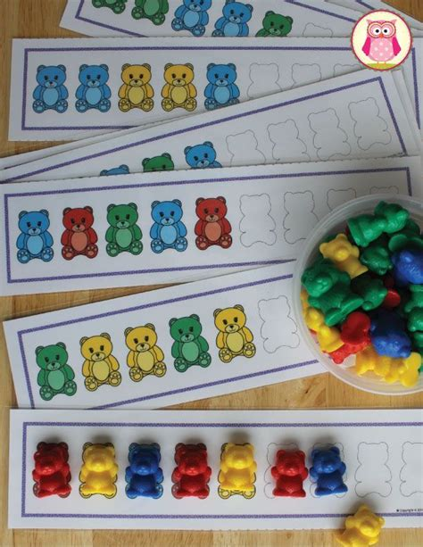 pattern activities for early childhood 35 best images about hibernation on pinterest pictures