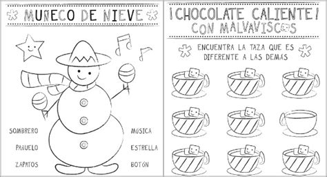 coloring pages for christmas in spain 7 best images of spanish christmas activities printables