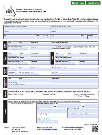 mass dept of boat registration 15 bill of sell form sle paystub