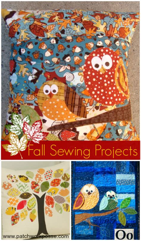 sewing patterns templates designs projects store free fall applique patterns