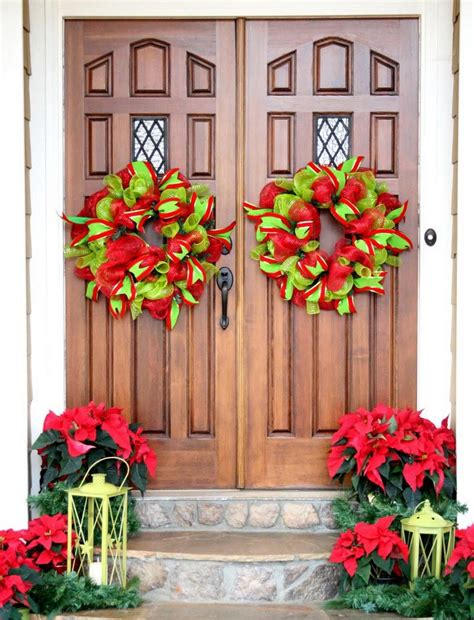 house decoration christmas designcorner christmas front door decorations quiet corner