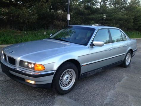 how cars run 1997 bmw 7 series seat position control sell used 1997 bmw 740il base sedan 4 door 4 4l in