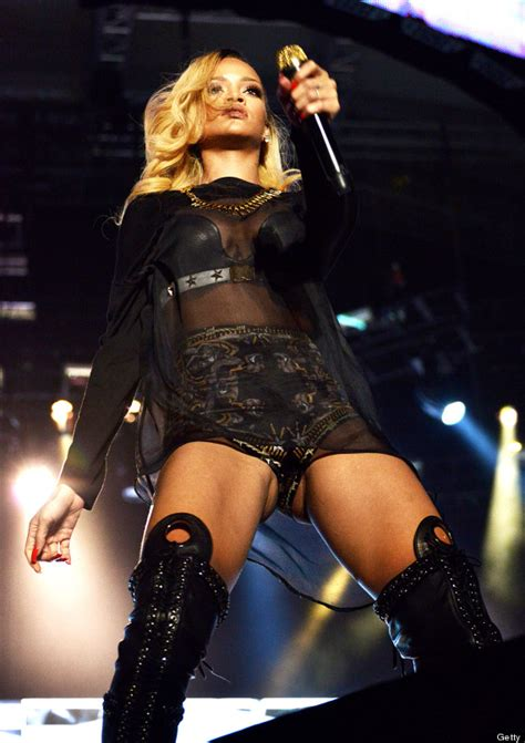 recent crotch exposure rihanna flashes crotch onstage in istanbul turkey photos