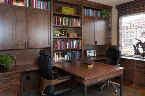 Partner Desks Home Office Robeson Design Home Office Partners Desk Contemporary Home Office San Diego By Robeson