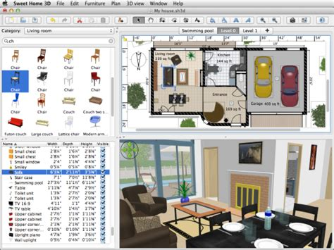 mac os x 3d home design sweet home 3d for mac free download and software reviews
