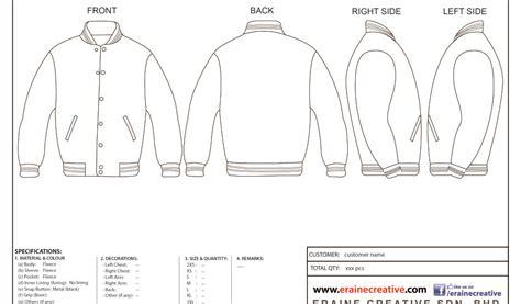jacket design vector free varsity jacket template stock vector women sport varsity