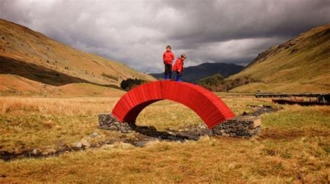 How To Make A Paper Bridge Without Glue - artist steve messam built a 16 foot paper bridge without