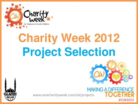 Charity Powerpoint Template Presentation Templates charity week 2012 project proposals presentation