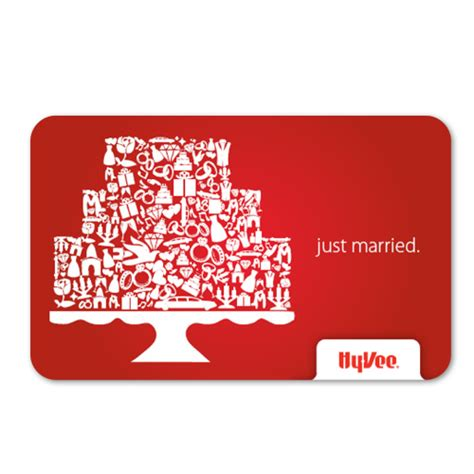 Hyvee Gift Card - shop gifts hy vee gift cards hy vee gift card just married 39629